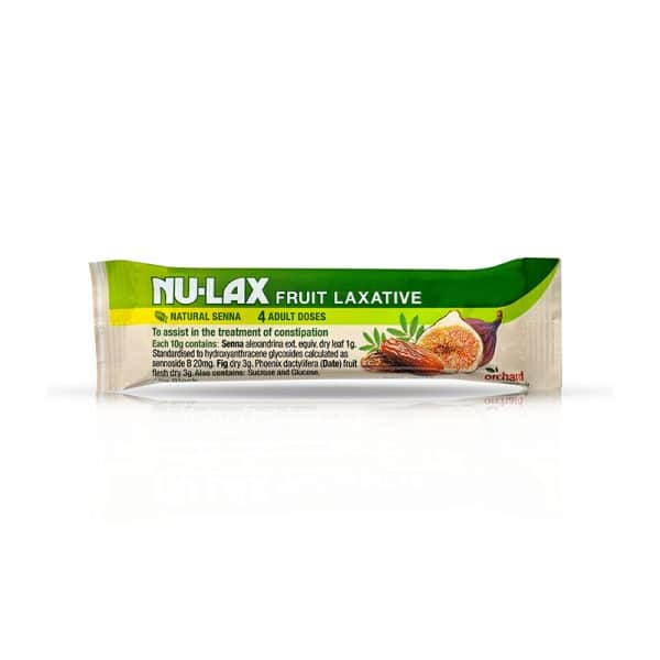 Natural Fruit Laxative bar
