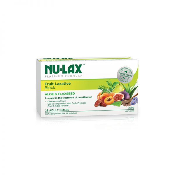 Platinum Fruit Laxative Block 280g